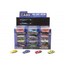 wholesale Kids Vehicles: Super Carsdie cast car 2,6inch 12 assorted in dis