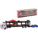 wholesale Kids Vehicles: Super Carsdie-cast Car transporter + 3 cars 2 a