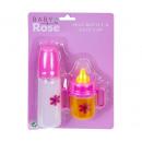 Baby Rose cumisüveg 2 db 16x23 cm-es kártyán