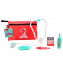 Orvosi játék szett táskában 6 részes 14x22cm