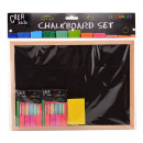wholesale Crafts & Painting: Crea Kids Chalkboard with accessories 29x21cm