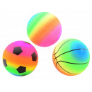 Großhandel Sonstige: Regenbogenball Größe 5 3 sortiert 21cm