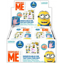wholesale Licensed Products: Minions Fun-Set Tattoo in Display (24)