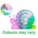 Magic Pop Game Tie-Dye Snail 13x19cm 3 assorted