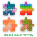 Magic Pop Game Puzzle 4 assorted 12.5x12.5x1.5cm