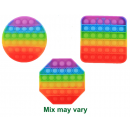 Magic Pop Game Rainbow assorted 12.5x12.5x1.5cm