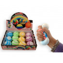 Squeeze Stretching Ball 6cm 4 assorted in Display