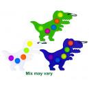 Magic Pop Game 5 Pops Dino assorted 14x19cm