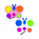 Magic Pop Game Butterfly 6 Pops 2 assorted 10x16cm