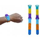 Großhandel Spielwaren: Magic Pop Game Rainbow Armband 25cm