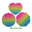 Magic Pop Game Rainbow Summer Colors XL assorted 2