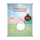 Molang Squishy 3D Bagclip Animal 6 assorted 5cm