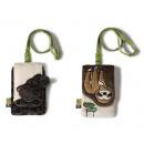Nici Wild Friends Plush Bag 9x14cm 2 assorted in