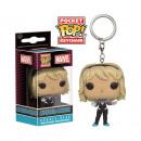 POP! Keychain Marvel Spider Gwen Unmasked in displ