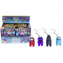 wholesale Gifts & Stationery: Among Us Figural Keychain in Blindbag in Display