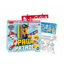 Paw Patrol Coloring book with template+stickers 20