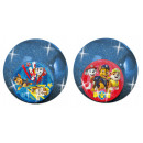 Paw Patrol Bouncing ball 6.5cm glitter + light