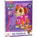Paw Patrol Puzzle piankowe 3D Skye 48 szt. 20x26cm
