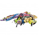 nagyker Játékok: Plüss kígyó válogatott színű 122cm