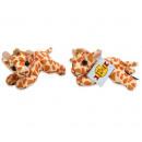 Plush giraffe lying 13cm