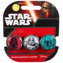 wholesale Licensed Products: Star Wars bracelet with 3 replaceable Charms Jumbo