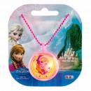 wholesale Licensed Products: Disneyfrozen Light Up Charm Neck chain Anna