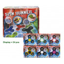 Handspinner Spin Runner in box assorted 7.5 cm