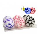 Air Ball with light 3 assorted 10cm