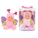Babypop met dierenpak Cute Baby Vlinder 22,5cm