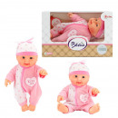 Baby doll en caja de ventana 22,5cm Rosa