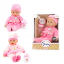 Baby doll with bottle Cute Baby 2 assorted 30cm