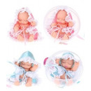 CUTE BABY Babypop in bal 2 assorti 12cm