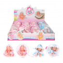 wholesale Dolls &Plush: CUTE BABY Baby doll in ball 2 assorted in Display