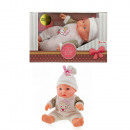 Baby doll with hat 23cm