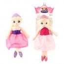 Großhandel Spielwaren: Puppe Prinzessin 2 sortiert 35 cm