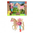 HORSES Teenage doll with horse