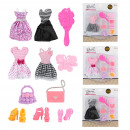 LAUREN Clothing for teenage doll dress with access