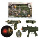 groothandel Overigen: Militaire Speelset met geweren en accessoires B/O