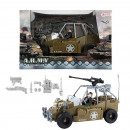 ARMY Veicolo militare con pupazzetto 18x27,5cm