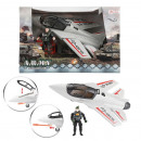 wholesale Other: ARMY Fighter plane military with soldier 18x27,