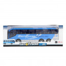 wholesale Other: CARS & TRUCKS Blue travel bus 32cm friction