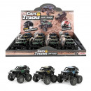 wholesale RC Toys: CARS & TRUCKS Monster truck pull back 3 assort