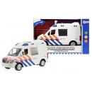 Politiebus met licht en geluid 22cm