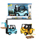 wholesale Toys: CARS & TRUCKS Forklift truck friction + Light