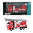 Großhandel Modelle & Fahrzeuge: METALL die-cast Feuerwehrauto 1:38 zurückziehen