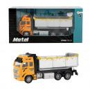 groothandel Overigen: METAL Die-Cast Kiepwagen 1:38 pull back 12x25,5cm