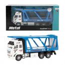 METAL Die-Cast Autotransporter 1:38 Pull Back 12x2
