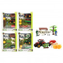 wholesale Other: TRACTOR Farm set with tractor and animals 4 assor