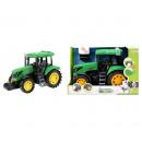 DeLuxe traktor fény- és hangzöld színnel [Batt