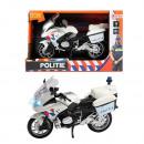 Politiemotor met Licht en Geluid 1:20 (NL / Politi